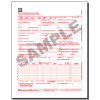 CMS 1500 (02/12) Claim Form, Continuous, 2 part, White/White paper, Red (OCR) ink - 1000/ctn