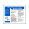 Eyedrop Administration Procedure Tip Sheet - 100/pad