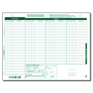 Controlled Drug Record / Flexible Liquid and Injection Doses - Pad-SAMPLE