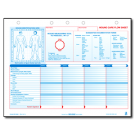 Wound Care Flow Sheet - 100/pad