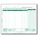 Medication Disposition Sheet - Multiple Residents - 1000/ctn