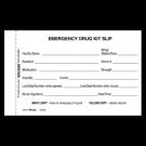 Emergency Drug Kit Slip - Individual - 1000/ctn