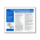 Eyedrop Administration Procedure Tip Sheet - 100/pad