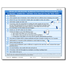 Inhaled Medicine Administration Procedures Tip Sheet - 100/pad