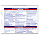 Oral Anticoagulation Agents Quick Reference Card - 10/pack
