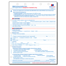 SBAR Communication Form and Progress Note for Caregivers in Assisted Living- 50/pad