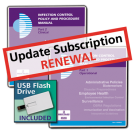 Infection Control Policy and Procedure Manual - Update Subscription Renewal