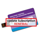 Infection Control Policy and Procedure Manual - USB Flash Drive Only - Update Subscription Renewal