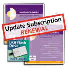Nursing Services Policy and Procedure Manual - Update Subscription Renewal