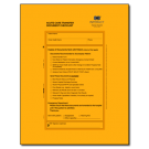 Acute Care Transfer Document Checklist for Home Health - 25 per pack