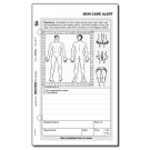Skin Care Alert Form - 100/pack