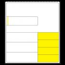Custom Thermal Transfer Label - 09