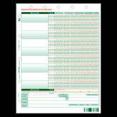 Laser Medication Observation Form - 1000/ctn