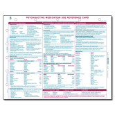 Psychoactive Medication Use Reference Card - 10/pack