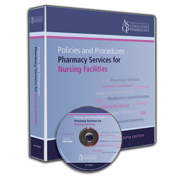 Policies and Procedures: Pharmacy Services for Nursing Facilities