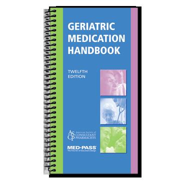 Geriatric Medication Handbook 12th Edition