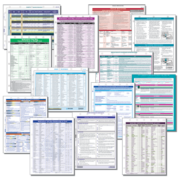 Clinical and Medication Management Reference Cards Combo Pack