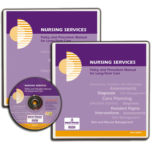 Nursing Services Policy and Procedure Manual with CD