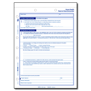 Home Health Face-to-Face Form