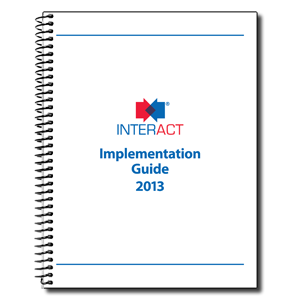 INTERACT Implementation Guide 2013