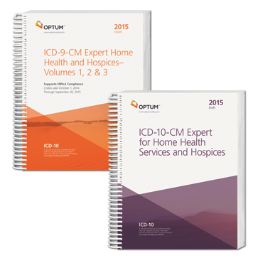 Home Health ICD-9-CM and ICD-10-CM 2015 Code Sets Combo from Optum