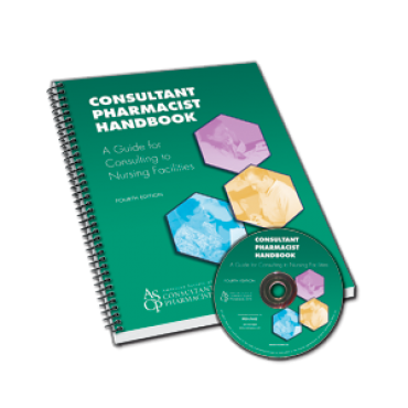 Consultant Pharmacist Handbook with CD