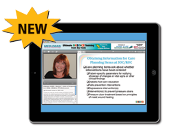 OASIS-C Online Training available for iPad
