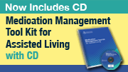 Medication Management Tool Kit for Assisted Living with CD