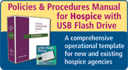 Policies & Procedures Manual for Hospice with CD