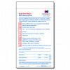"""""""Stop and Watch"""" Early Warning Tool - 2 part - 100/pack (2 pads of 50)"""