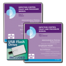 Infection Control Policy and Procedure Manual with USB Flash Drive