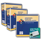 Operational Policy and Procedure Manual for Long-Term Care with USB Flash Drive
