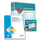 Social Services Policy Manual with USB Flash Drive and MDS 3.0 Departmental Guide