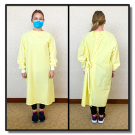 Isolation Gown - Reusable - 10/pack