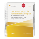2020 ICD-10-CM Expert for Home Health and Hospice with 2020 Guidelines
