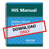HIS Manual: Guidance Manual for Completion of the Hospice Item Set (HIS) - Digital Download with 1 Year of Updates