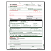 OASIS-D Skilled Nursing Adult Re-Assessment, 485 P.O.C., Recertification Worksheet - 50/pack