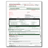 OASIS-D Adult Physical Therapy Re-Assessment, 485 P.O.C. Recertification Worksheet - 50/pack