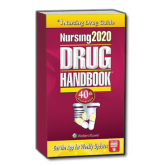 Lippincott's Nursing2020 Drug Handbook with Online Toolkit