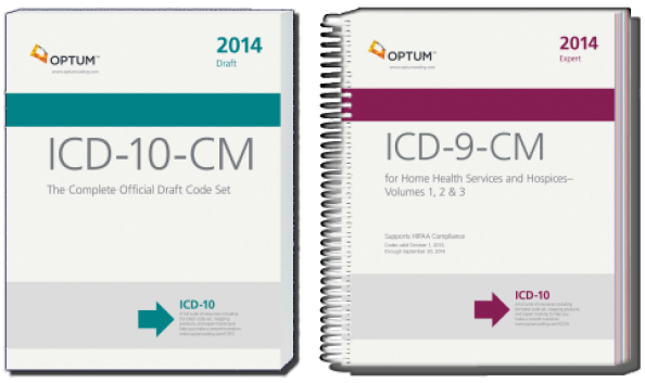 Home Health ICD-9-CM and ICD-10-CM 2014 Code Sets Combo from Optum