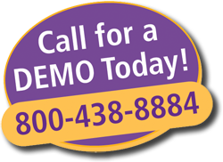 800-438-8884 Call for a demo
