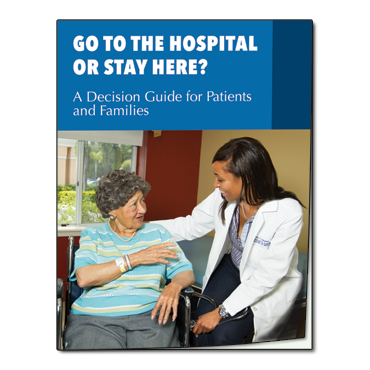 Go to the Hospital or stay Here Guide