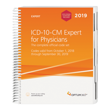2019 ICD-10-CM Expert for Physicians
